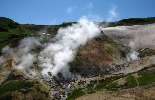 mini Valley of Geysers (hot springs)