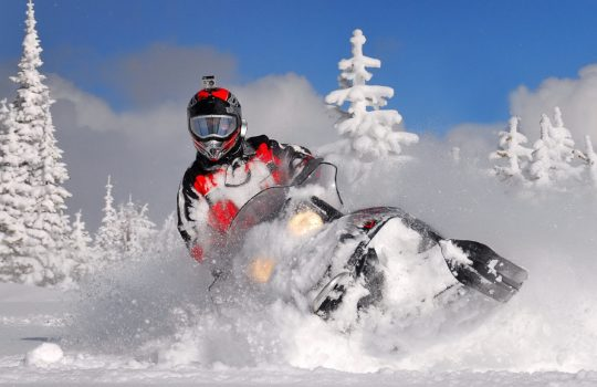 Snowmobile tour to Avachinsky volcano